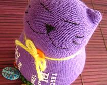 Как сшить кота из носка своими руками фото 610