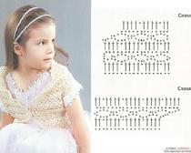 Вязание болеро для девочки 2 года 75