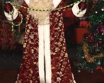 Шьём костюм Дедушки Мороза своими руками: выкройка и описание