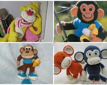 Связать обезьянку амигуруми крючком очень просто: наш мастер-класс
