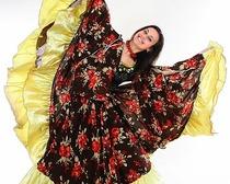 Цыганский костюм своими руками