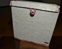 Нарядная коробка для хранения безделушек
