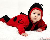 Флисовый детский комбинезон
