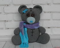 Амигуруми: Мишка Тедди