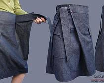Два способа, как пошить юбку с запахом: урок с выкройкой