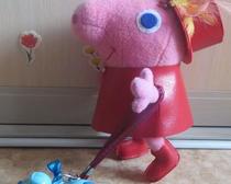 Розовая свинка Пеппилота