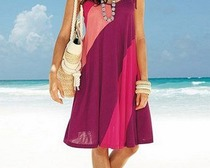 Выкройка воздушного пляжного платья