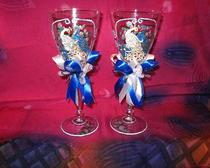 Свадебные бокалы «Восточная сказка»
