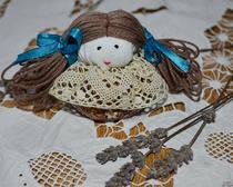 Ароматное саше, в виде куклы своими руками