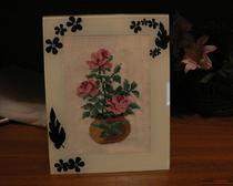 Вышивка крестом простые схемы розы