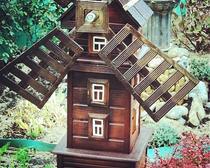 Поделки из дерева для украшения участка или дома