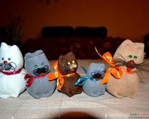Пушистые мягкие котики