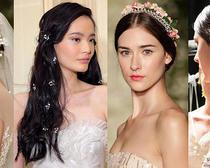 О модных свадебных причёсках 2016