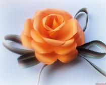 Цветы своими руками: роза из бумаги