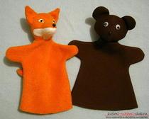 Создание выкройки для классической цельнокроеной перчаточной куклы своими руками