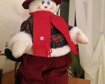 Снеговик из фетра, одежда для снеговика