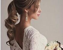 Как сделать свадебную прическу для длинных волос