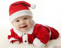 Вязание новогодней шапки для годовалого малыша