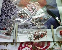 Схемы работ в технике алмазная вышивка