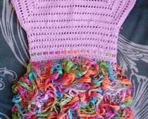 """Платье для девочки """"Сиреневый всплеск"""""""