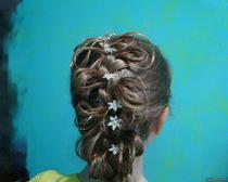 Праздничные прически на длинные волосы