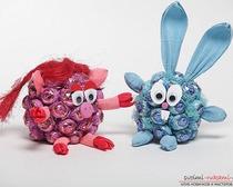 Игрушки из конфет для детей.