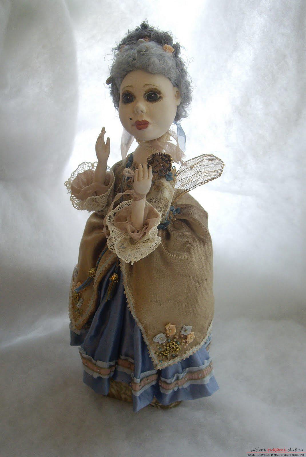 Скачать книгу авторская кукла из полимерной глины