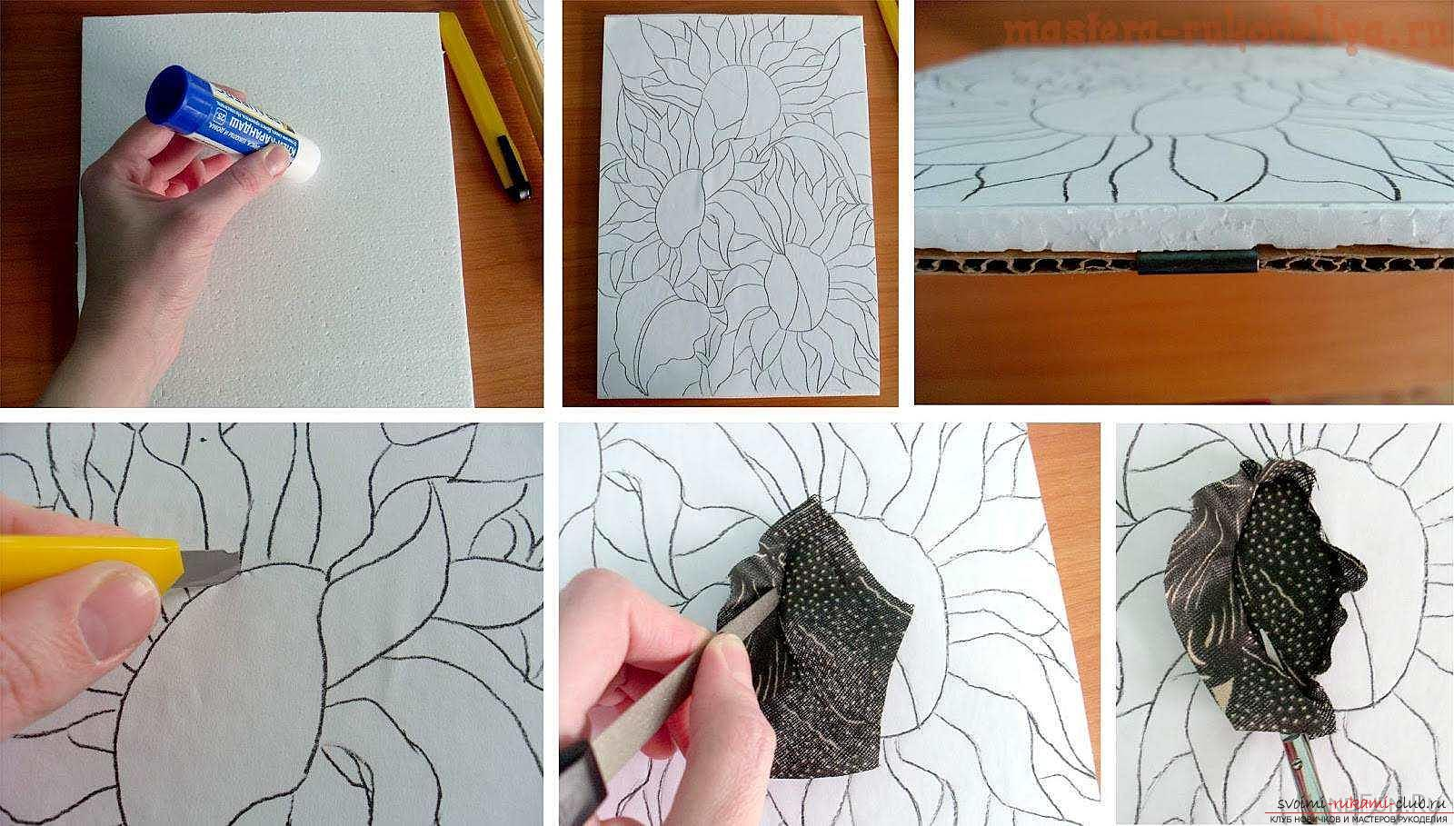 Как создавать интересные картины в технике кинусайга. Фото №1