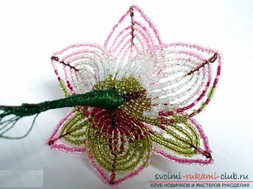 Бесплатные мастер классы по созданию цветов с пошаговыми фото.. Фото №19