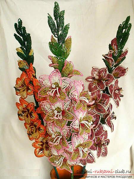 Бесплатные мастер классы по созданию цветов с пошаговыми фото.. Фото №13