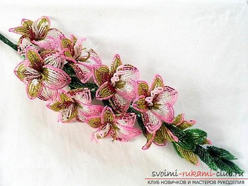 Бесплатные мастер классы по созданию цветов с пошаговыми фото.. Фото №23