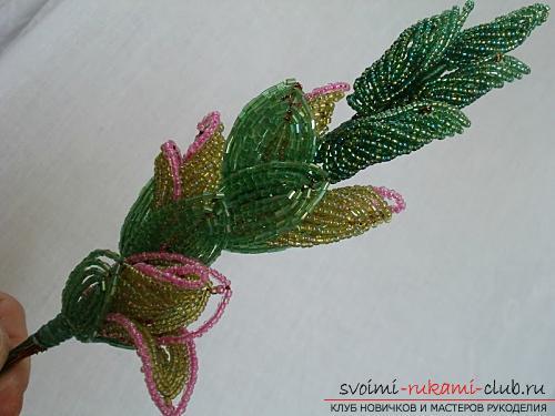Бесплатные мастер классы по созданию цветов с пошаговыми фото.. Фото №22