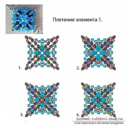 Бесплатные мастер классы с пошаговыми фото по плетению серег из бисера