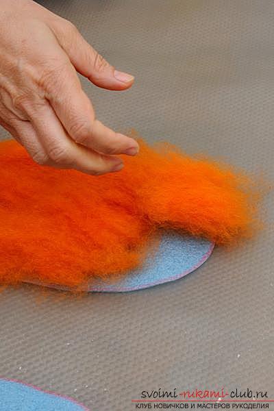 Как создать своими руками удобные тапочки методом валяния. Фото №3
