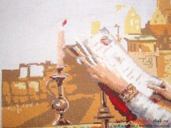 Вышивка крестом оригинальной картины для начинающих. Фото №6