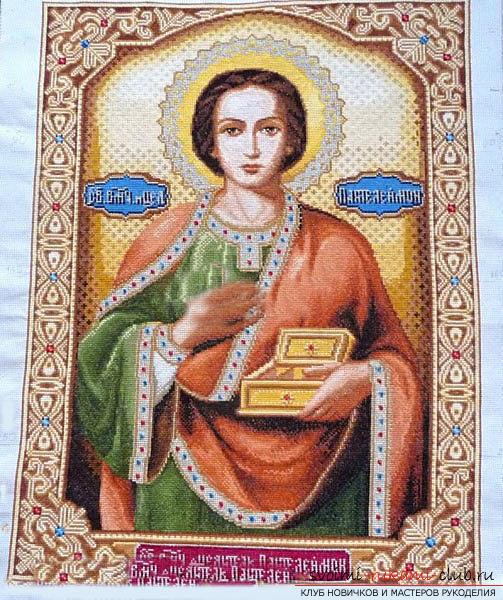 Вышить крестиком икону «