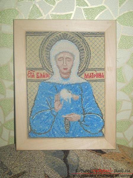 Вышиваем крестом иконы