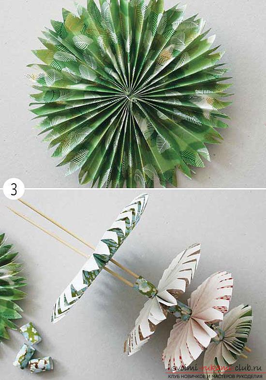 Как сделать новогоднюю елочку из бумаги своими
