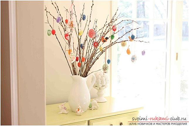 Пасхальные поделки, поделки к Пасхе своими руками, поделки к Пасхе для деток, как украсить пасхальное яйцо своими руками, праздничный декор, пасхальные композиции, пасхальные наддверные венки.. Фото №29