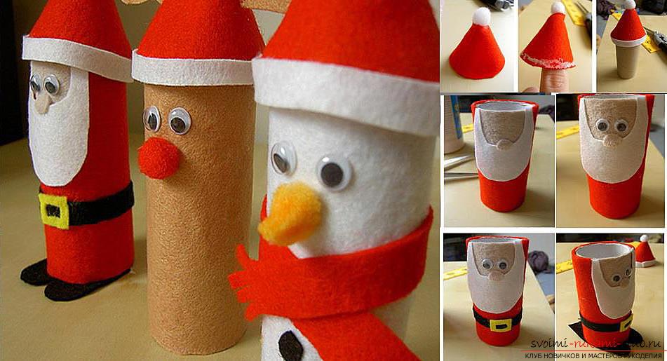 Новогодняя игрушка из пенопласта своими руками фото