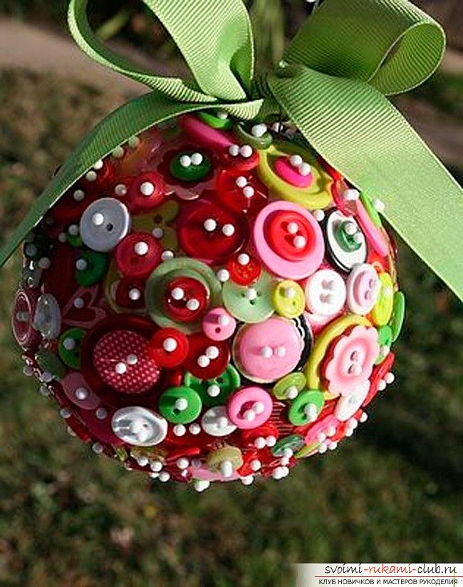 Как сделать елочные игрушки: шары, снежинки и многое другое своими руками, мастер классы по созданию новогодних елочных игрушек с пошаговыми фото и описанием. Фото №3
