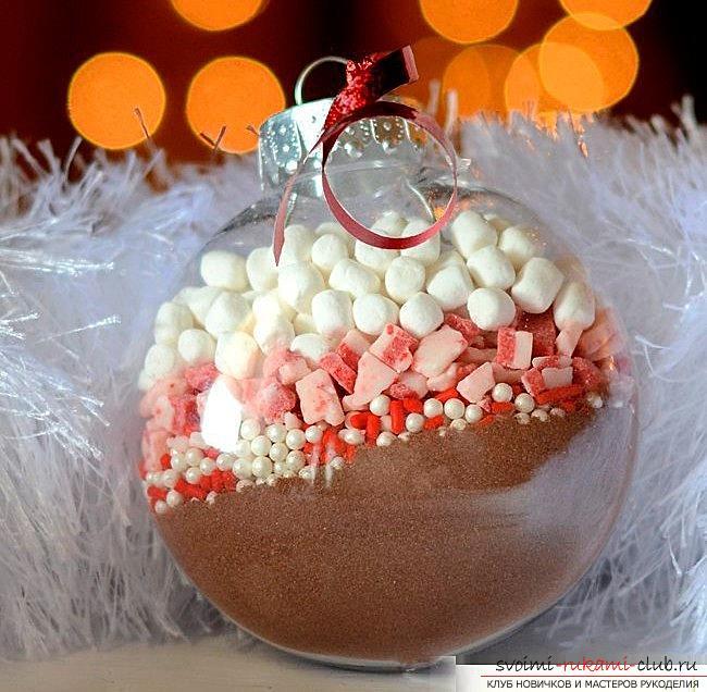 Как сделать елочные игрушки: шары, снежинки и многое другое своими руками, мастер классы по созданию новогодних елочных игрушек с пошаговыми фото и описанием. Фото №30