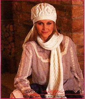 Как связать шапку, вязание шапки спицами, схемы и узоры для шапок, узоры для вязаных шапок, подробные описание, схемы, фото примеры, рекомендации.. Фото №10