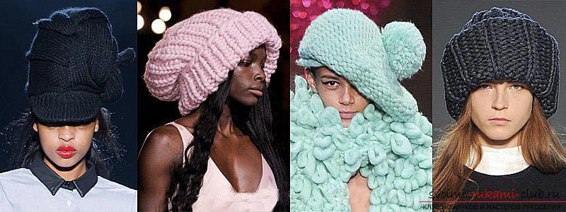 Как связать шапку, вязание шапки спицами, схемы и узоры для шапок, узоры для вязаных шапок, подробные описание, схемы, фото примеры, рекомендации.. Фото №2
