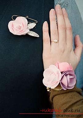 Цветы своими руками, как сделать цветок из бумаги своими руками, цветы из гофрированной бумаги, советы, рекомендации, пошаговая инструкция выполнения.. Фото №13