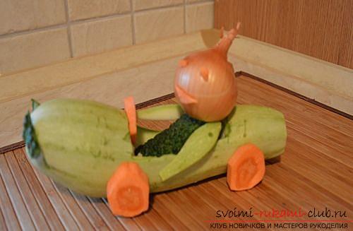 Меховые носЛоси игрушУкрашение из овощей своими руками