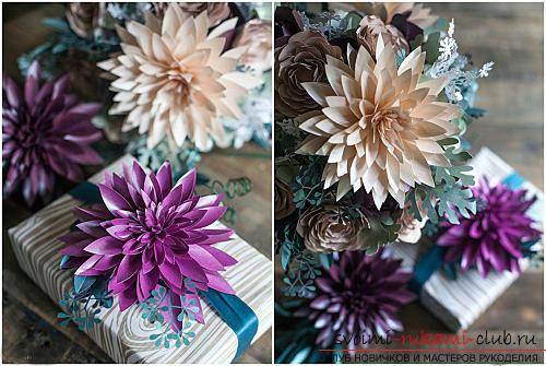 Цветы своими руками, как сделать цветок из бумаги своими руками, цветы из гофрированной бумаги, советы, рекомендации, пошаговая инструкция выполнения.. Фото №17