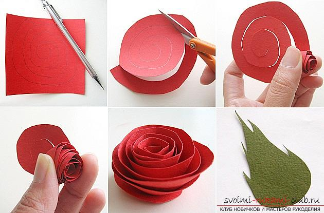 роза из салфетки своими руками пошаговая инструкция