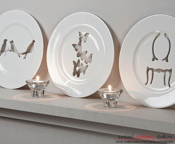 Как сделать декоративную тарелку на стену своими руками