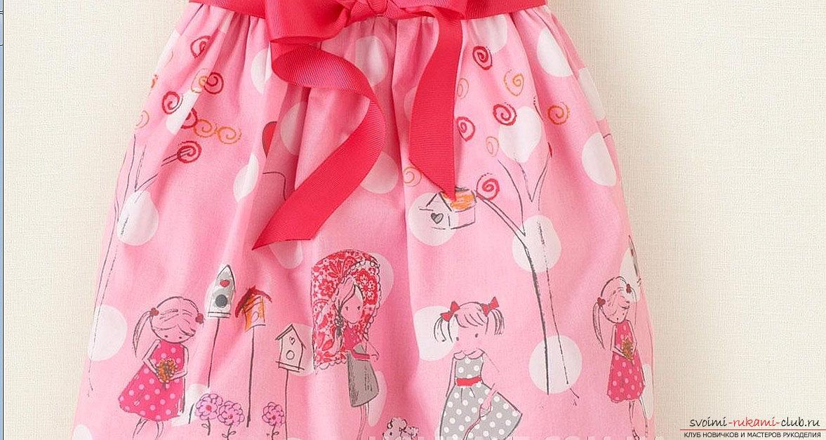 Как связать детское летнее платье для девочки? Подробный мастер-класс